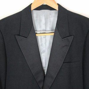 ⭐️HP⭐️Men's Black Tuxedo Jacket and Pants Large